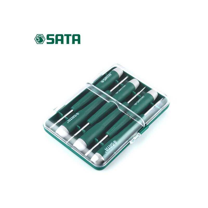 世达手机维修工具小螺丝刀批一字十字微型钟表笔记本套装DY06101
