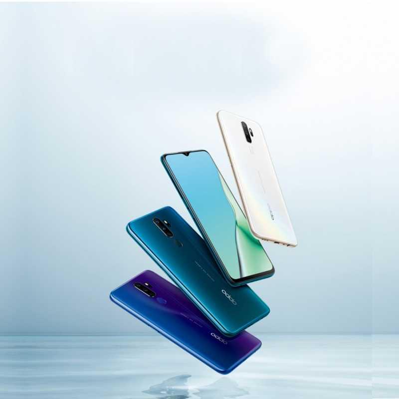 OPPO-A11手机-128G大内存全网通4G视频防抖智能游戏拍照水滴全面屏新品-