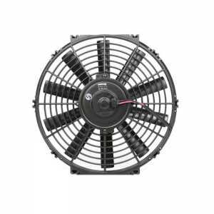 适用于 汽车空调电子扇12寸冷凝器风扇80W发动机水箱散热改装12V 24V 升级版【12v】