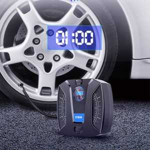 尤利特(UNIT)车载充气泵数显便携式轮胎电动小轿车汽车加气泵车用打气泵预设胎压胎压监测带LED照明YD-371